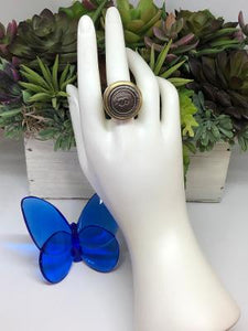 #4 Vintage Couture Ring 26mm