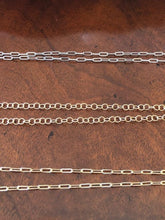 Load image into Gallery viewer, #22 Necklaces/Chains- Circle Link Chain Matte Gold