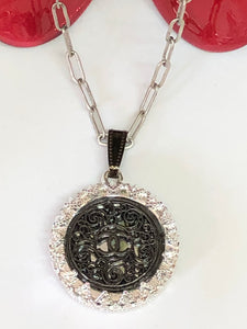 #105 Vintage Couture Necklace 28mm