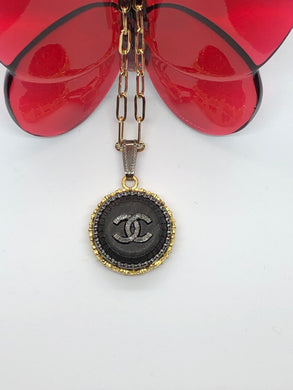 #258 Vintage Couture Necklace 23mm