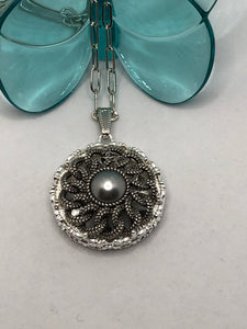 #344 Vintage Couture Necklace 32mm