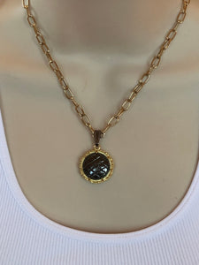 #95 Vintage Couture Necklace 23mm