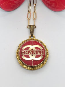 #192 Vintage Couture Necklace 28mm