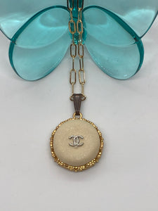#454 Vintage Couture Necklace 26mm