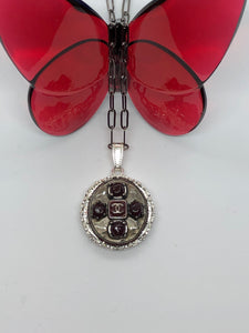 #273 Vintage Couture Necklace 28mm