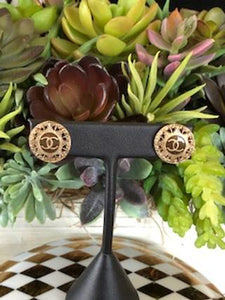 #173 Vintage Couture Earrings 16mm