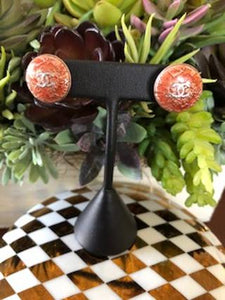 #183 Vintage Couture Earrings 18mm