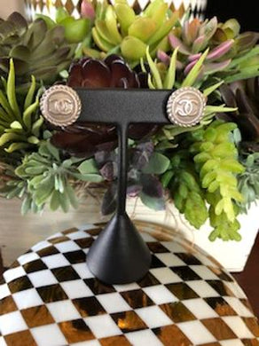 #189 Vintage Couture Earrings 16mm