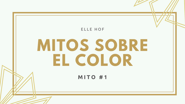 Mitos sobre el color