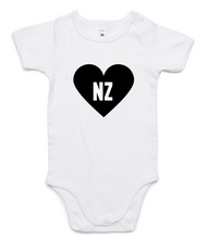 NZ Heart Onesie