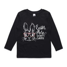 Easter Hare Don't Care Long Sleeve Tee