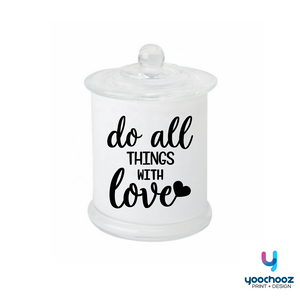 do all things with love-CANDLE
