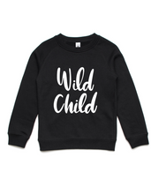 Wild Child- Kids Crew Jumper