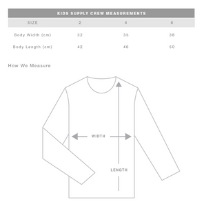 Born to Adventure- Kids Crew Jumper- Grey