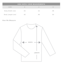 Who run the world girls- Kids Crew Jumper- Grey