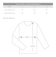 Cool kids NEVER sleep- Kids Crew Jumper- Grey
