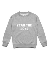 YEAH THE BOYS- Crew Jumper