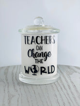 Teachers- Hand Poured Soy Candles- 2 designs