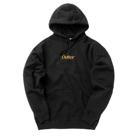 Butter Goods - Speckle Classic Logo Pullover - Black