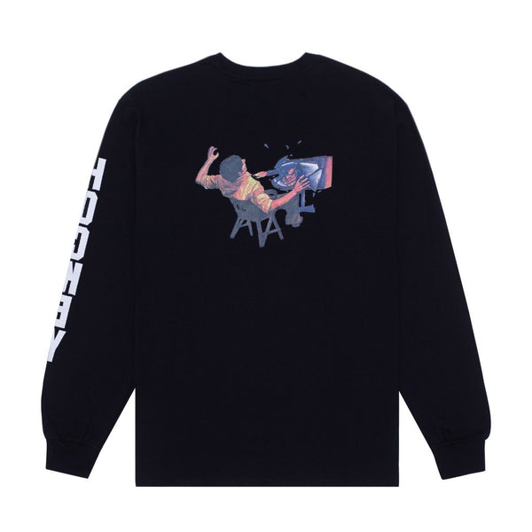 Hockey - Ultraviolence L/s Tee Black