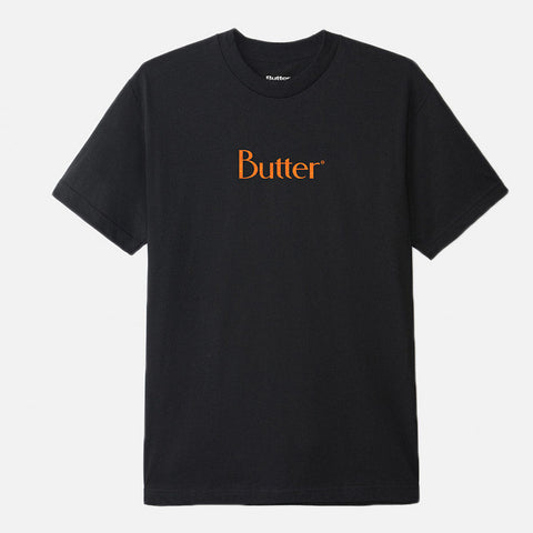 Butter Goods - Speckle Classic Logo Tee - Black