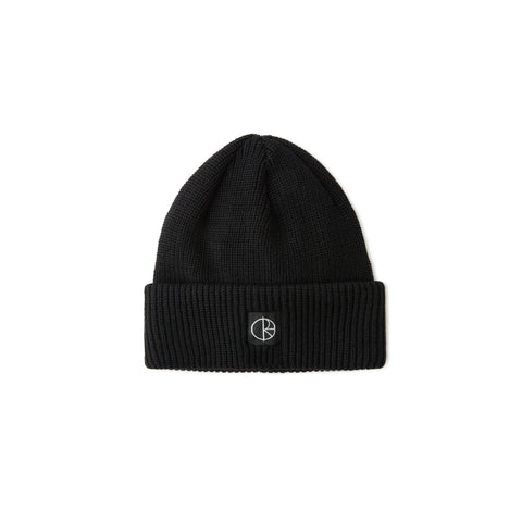 Polar Skate Co. - Double Fold Merino Beanie black