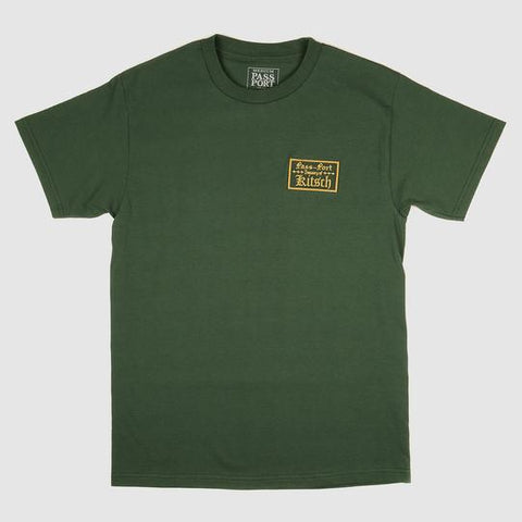 Pass~Port - Treasury Patch Tee Forest Green
