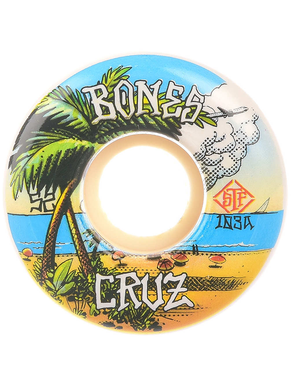 Bones - Wheels STF Cruz Buena Vida 103A V2 Locks
