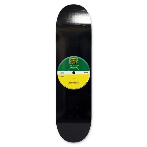 "Skateboard Cafe - ""45"" Deck Green/Yellow 8.25"""