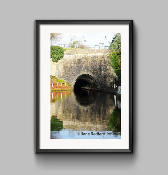 Darkie Tunnel and the Llangollen Canal