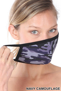Camo Masks Family 9 Pack
