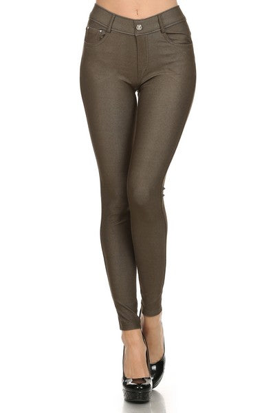 The Best Jeggings in Olive