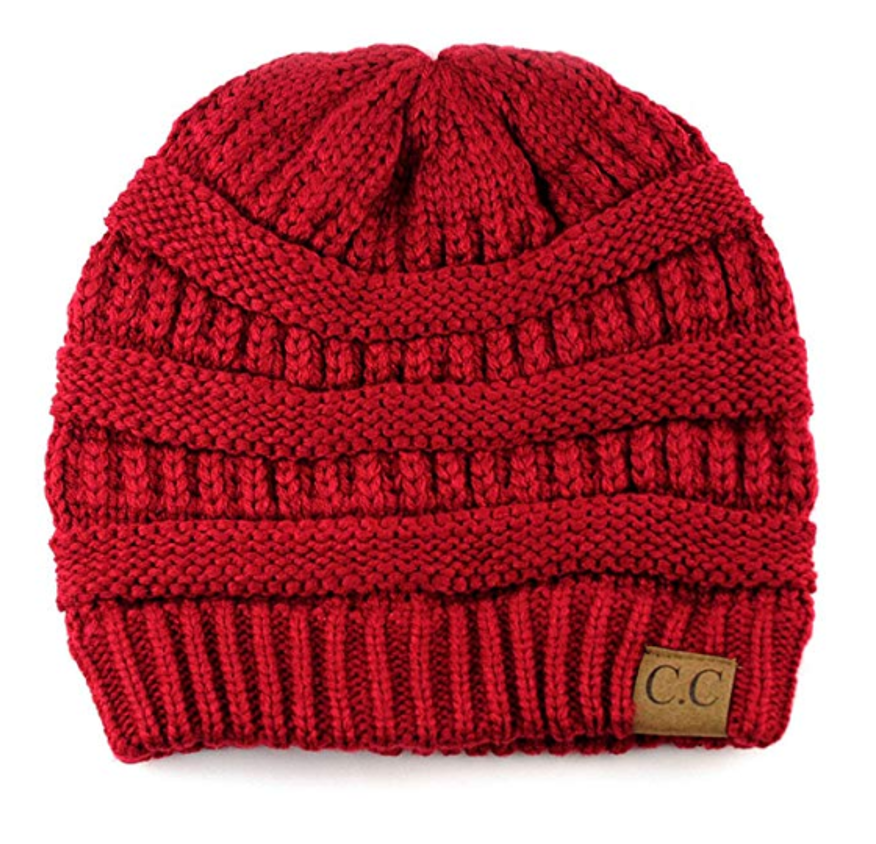 Classic CC Beanie in Red