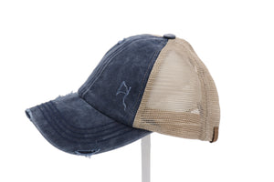 C.C® Criss-Cross Ponytail Caps