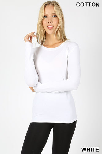 Women's Regular Fit Long Sleeve Crewneck T-Shirt