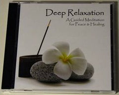 Deep Relaxation - Guided Meditation Cd