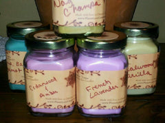 Love Candle (Cedarwood, Amber)