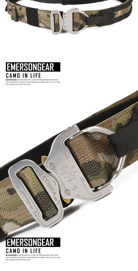 Emerson Gear Blue Label Hurricane Tactical COBRA Double Belt
