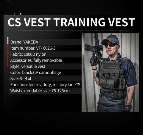 yakeda lightweight JPC body armor MOLLE shooting hunting Waterproof Buletproof plate carrier army tactical vest chaleco tactico