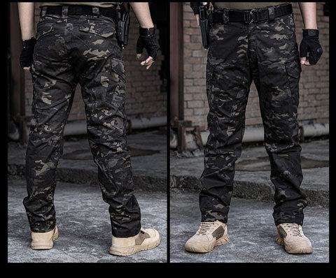 IDOGEAR GL Tactical Pants CP Field Airsoft Military Trousers Camo Multicam