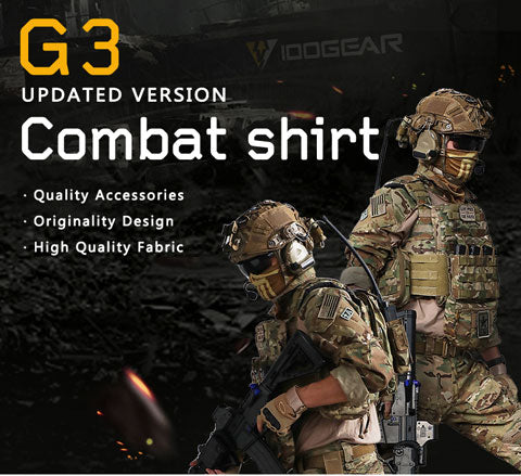 IDOGEAR G3 Combat Shirt With Elbow Pads-RG
