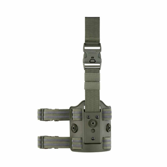 Amomax Tactical Drop Leg Platform Compatible with All Amomax Holsters Magazine Pouches - Green