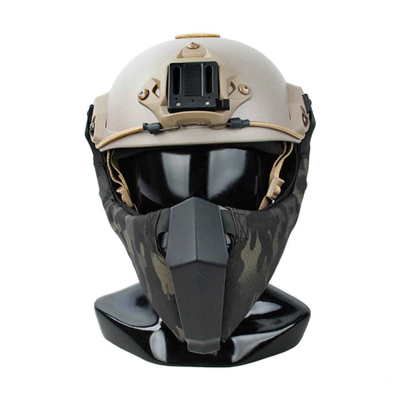 TMC Mandible Guide Rail Tactical Half Face Mask