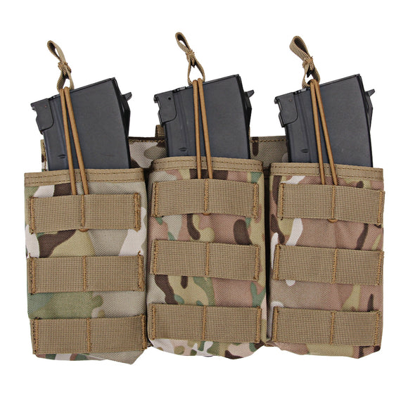 WST Tactical Triple Stacker Open-Top Mag Pouch for G36 Mag - tacticalxmen