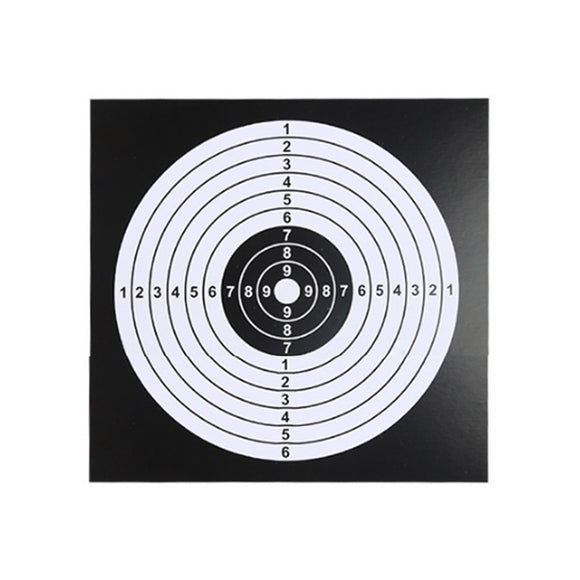 WST 100Pcs Shooting Trainning Target Sheet for Airsoft - tacticalxmen