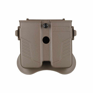 Universal Double Magazine Pouch for 9mm 40' or 45' Caliber Magazine