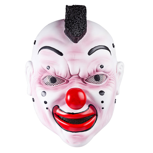 FAM Clown Mask Halloween Gift with 50-60cm Head Circumference - tacticalxmen