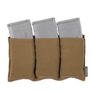 IDOGEAR Tactical 5.56 Magazine Pouch Fast Draw MOLLE Mag Pouch Carrier Triple Open Top 3555