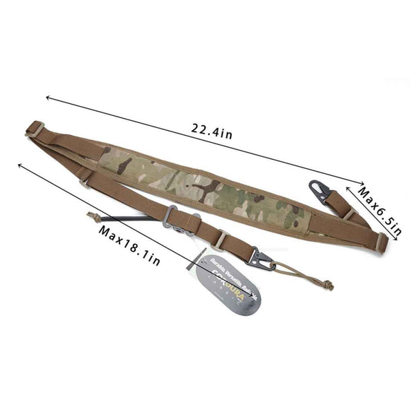 TW MK2 Sling Quick Tactical Strap 2 Points Wide Padded Sling