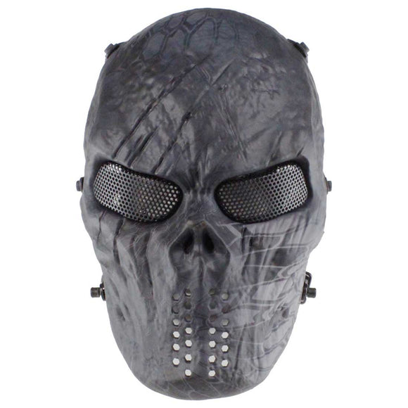 WST Iron Blood Skull Mask for Wargame Halloween Dancing Party